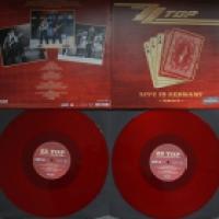 ZZ Top - Live im Rockpalast am 20. April 1980 auf rotem Vinyl