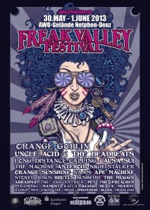 Freak Valley Poster