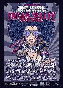 Freak Valley Poster