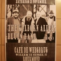 Kilborn Alley Blues Band im Cafe de Weegbrug/Roermond am 23.11.13