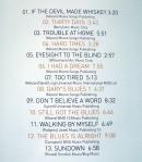 Gary Moore Setlist