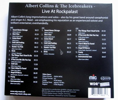 Albert Collins Titelliste