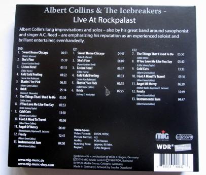 Albert Collins Titelliste