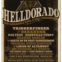 Helldorado - The Incredible Rock & Roll Freakshow im Klokgebouw Eindhoven am 18.11.17