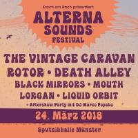 7. Alterna Sounds Festival 24.3.2018 Sputnikhalle Münster