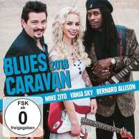 Mike Zito, Vanja Sky, Bernard Allison – Blues Caravan 2018