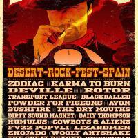 Tabernas Desert Rock Fest Spain 4.-6. Oktober 2019