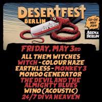 Desertfest Berlin,  Freitag 3.5.2019