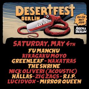 Desertfest Berlin, Samstag 4.5.2019