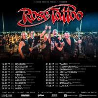 """""""Rose Tattoo"""" kehren 2019 wieder auf europäische Bühnen zurück"""