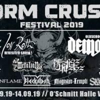 Spezielle Ankündigung für das Storm Crusher Festival 2019