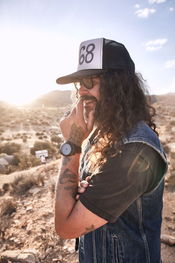 Brant Bjork _ Stoned and Dusted _ photo by Sam Grant